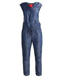 blauer Jumpsuit aus Jeans von s.Oliver