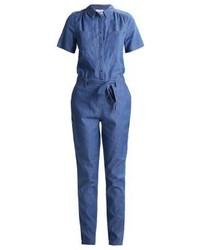 blauer Jumpsuit aus Jeans von Vila