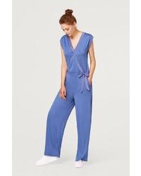 blauer Jumpsuit von Esprit