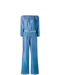 blauer Jumpsuit von MICHAEL Michael Kors