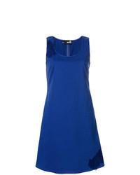 blauer Kleiderrock