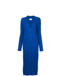 blauer lange Strickjacke von Maison Margiela