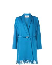 blauer Mantel von Salvatore Ferragamo