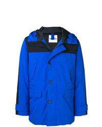 blauer Parka von Kenzo