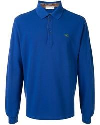 blauer Polo Pullover von Etro