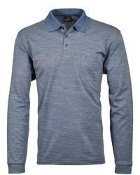 blauer Polo Pullover von RAGMAN