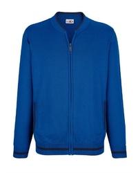 blauer Pullover mit einem Reißverschluß von ROGER KENT