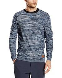 blauer Pullover mit einem Rundhalsausschnitt von O'Neill