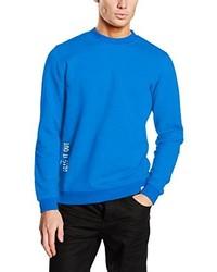 Blauer Pullover mit Rundhalsausschnitt von Jack & Jones