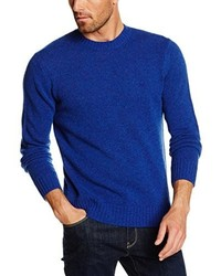 blauer Pullover von Benetton