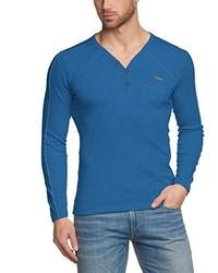 blauer Pullover von Cipo & Baxx