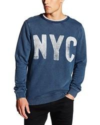 blauer Pullover von Hilfiger Denim