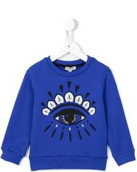 blauer Pullover von Kenzo