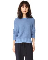 blauer Pullover von Rebecca Minkoff