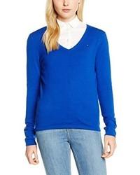 blauer Pullover von Tommy Hilfiger