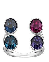 blauer Ring von Swarovski