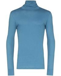blauer Rollkragenpullover von Loreak Mendian