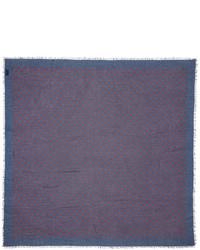 blauer Schal von Gucci