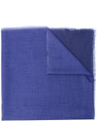 blauer Schal von Lanvin