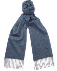blauer Schal von Tom Ford