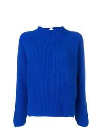 blauer Strick Rollkragenpullover von Forte Forte