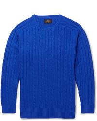 blauer Strickpullover von Beams