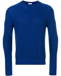 blauer Strickpullover von Valentino