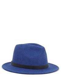 blauer Wollhut