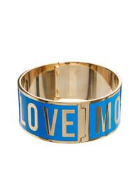 blaues Armband von Love Moschino