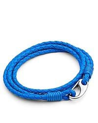 blaues Armband von Tribal Steel