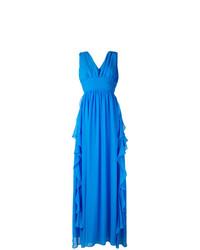 blaues Ballkleid von MSGM