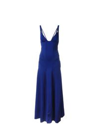 blaues Ballkleid von Ralph Lauren