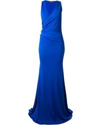 blaues Ballkleid von Roberto Cavalli