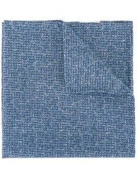 blaues Baumwolle Einstecktuch von Eleventy