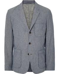 blaues Baumwollsakko von Alex Mill
