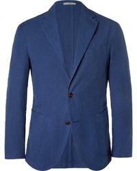 blaues Baumwollsakko von Boglioli