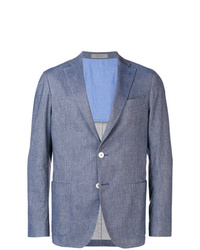 blaues Baumwollsakko von Corneliani