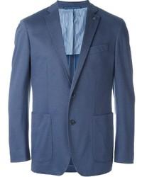 blaues Baumwollsakko von Hackett