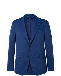 blaues Baumwollsakko von Hugo Boss