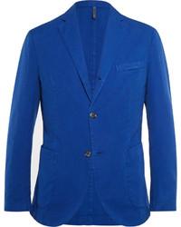 blaues Baumwollsakko von Incotex