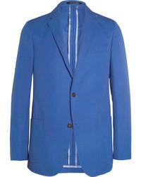 blaues Baumwollsakko von Richard James