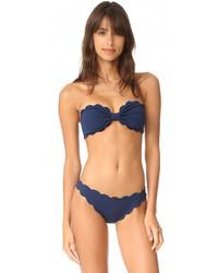 blaues Bikinioberteil von Marysia Swim