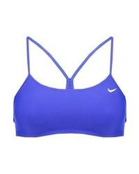blaues Bikinioberteil von Nike