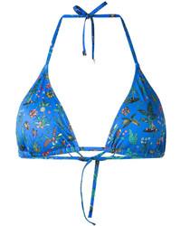blaues Bikinioberteil von Paul Smith