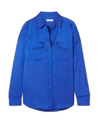 blaues Businesshemd von Equipment