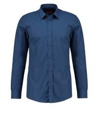 Blaues Businesshemd von Hugo Boss