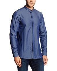 blaues Businesshemd von Jack & Jones