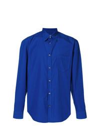 blaues Businesshemd von Maison Margiela
