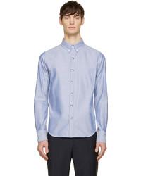 blaues Businesshemd von Moncler