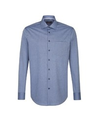 blaues Businesshemd von Seidensticker
